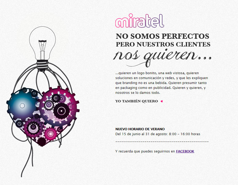Nueva página Miratel