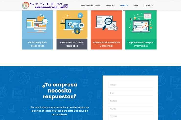 web-system-informatica