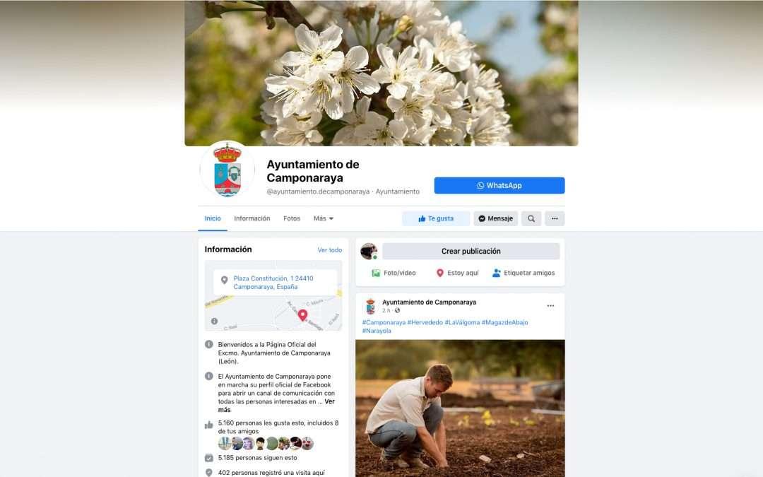 Social Media Ayto de Camponaraya