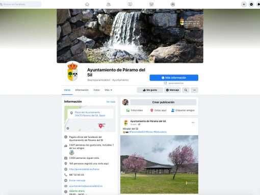 Social Media Ayto de Páramo del Sil