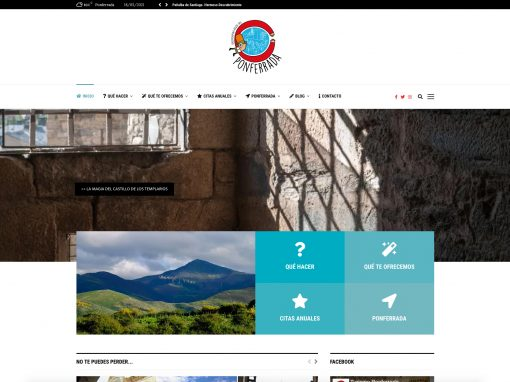 Web Turismo Ponferrada