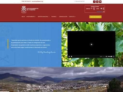 Web Ayuntamiento de Fabero